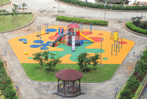 Play Area for Kids, Hiranandani Fortune City, Panvel